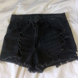 Distressed shorts bought from Tillys!!
